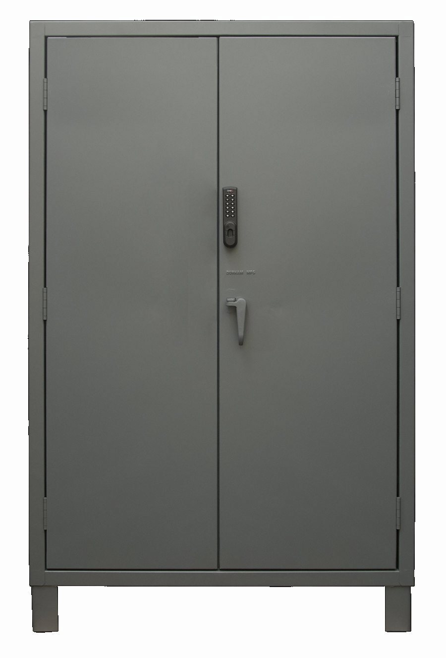 48 in wide electronic access cabinet solid door