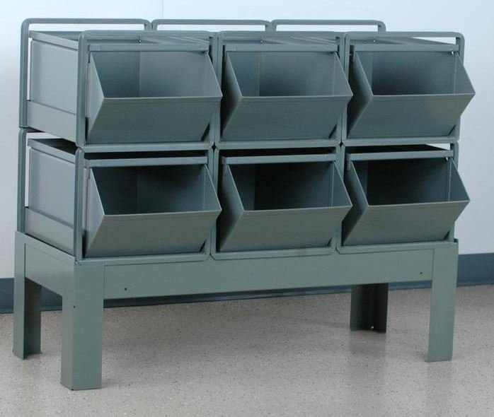 6 stackbin bin rack 3 wide