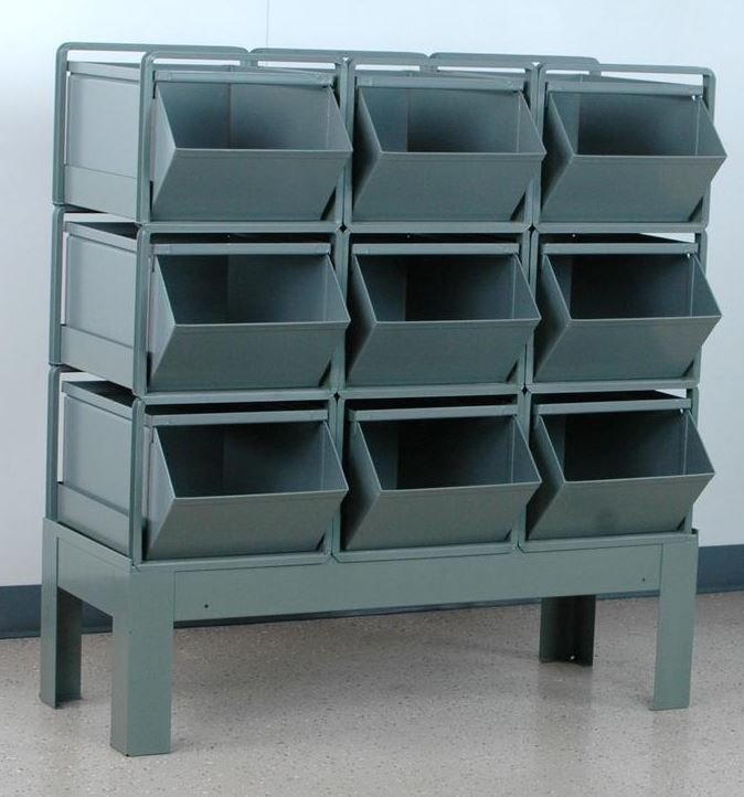 9 stackbin bin rack 3 wide