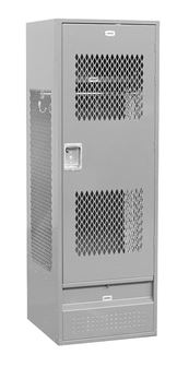 ... Grey Vented Door Gear Locker ...  sc 1 st  A Plus Warehouse & Secure Vented Door Gear Lockers with Heavy Duty Doors pezcame.com