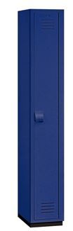HEAVY DUTY SINGLE TIER PLASTIC LOCKERS