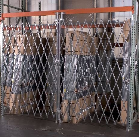 PALLET RACK SECURITY GATE