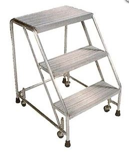 aluminum ladder without handrail