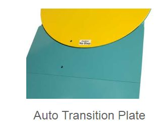 auto transition plate