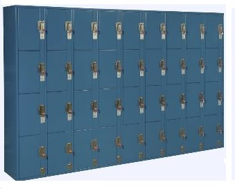 coin operated lockers four opening