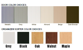 color chart wood sorter