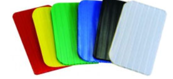 corrugated plastic totes colors