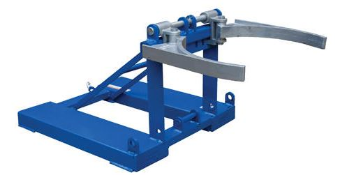 fork mounted poly drum handler top grip