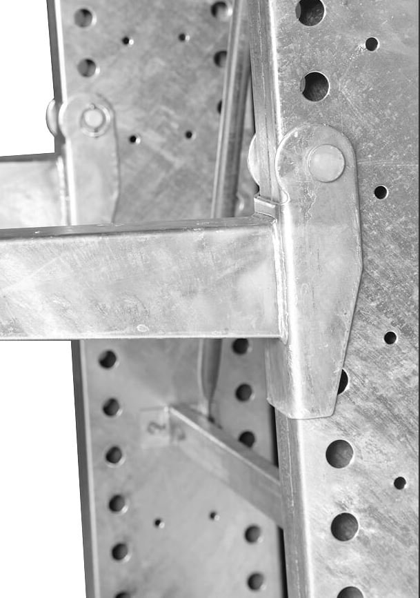 galvanized cantilever tack arm pin