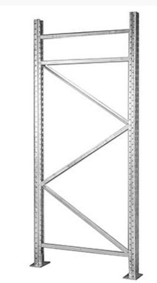 galvanized pallet rack upright