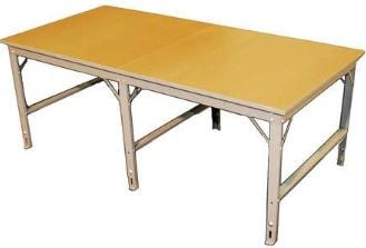 hardboard production table