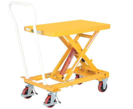 Self Elevating Lift Cart And Other Lift Trucks