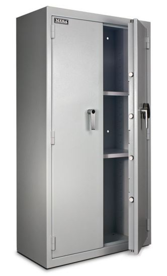 Large pharmacy safe with the door open