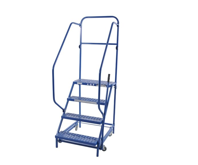 low rise pull and roll ladder