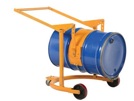 manual drum carrier and rotator