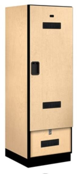 maple closed locker