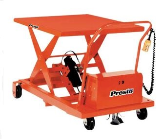 mobile compact scissor lift