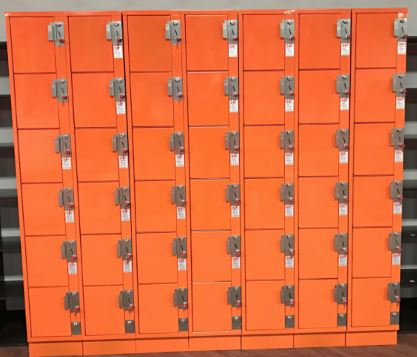 orange box locker