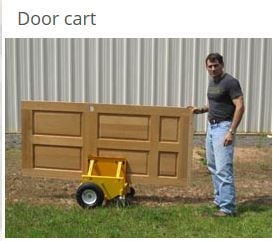 panel cart moving doors