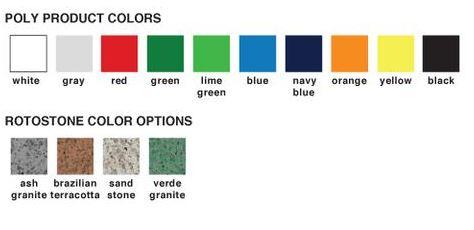 rB WIRE PRODUCTS INC COLOR CHART