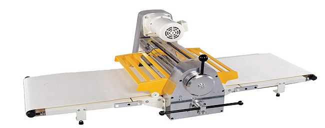 reversible dough sheeter table top