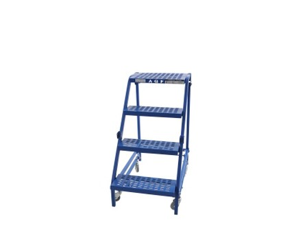 rolling ladder without handrails