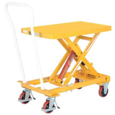 self elevating lift cart