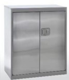 Stainless Steel Counter Height Cabinets