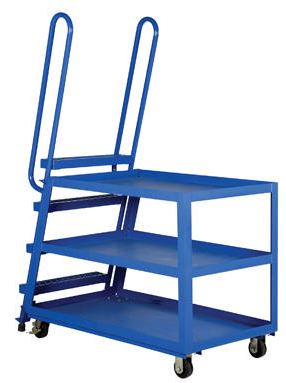 standard pick carts with ladder