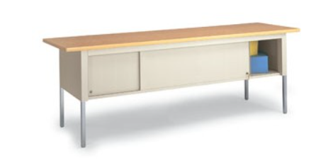 standard table with sliding doors 84