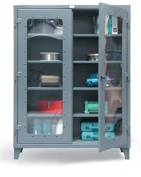 strong hold clear view cabinets