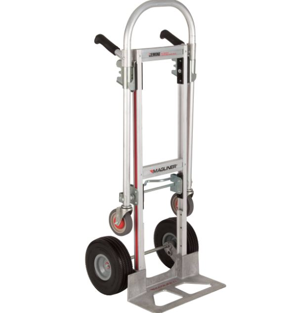 the two in one hand and platform truck mini size
