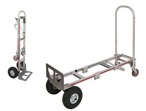 the two in0one hand and platform truck medium size