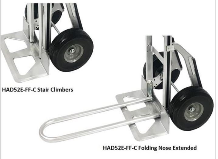 three stair climbing handtruck