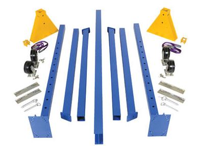 unassembled gantry