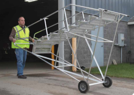 wheel barrow ladder