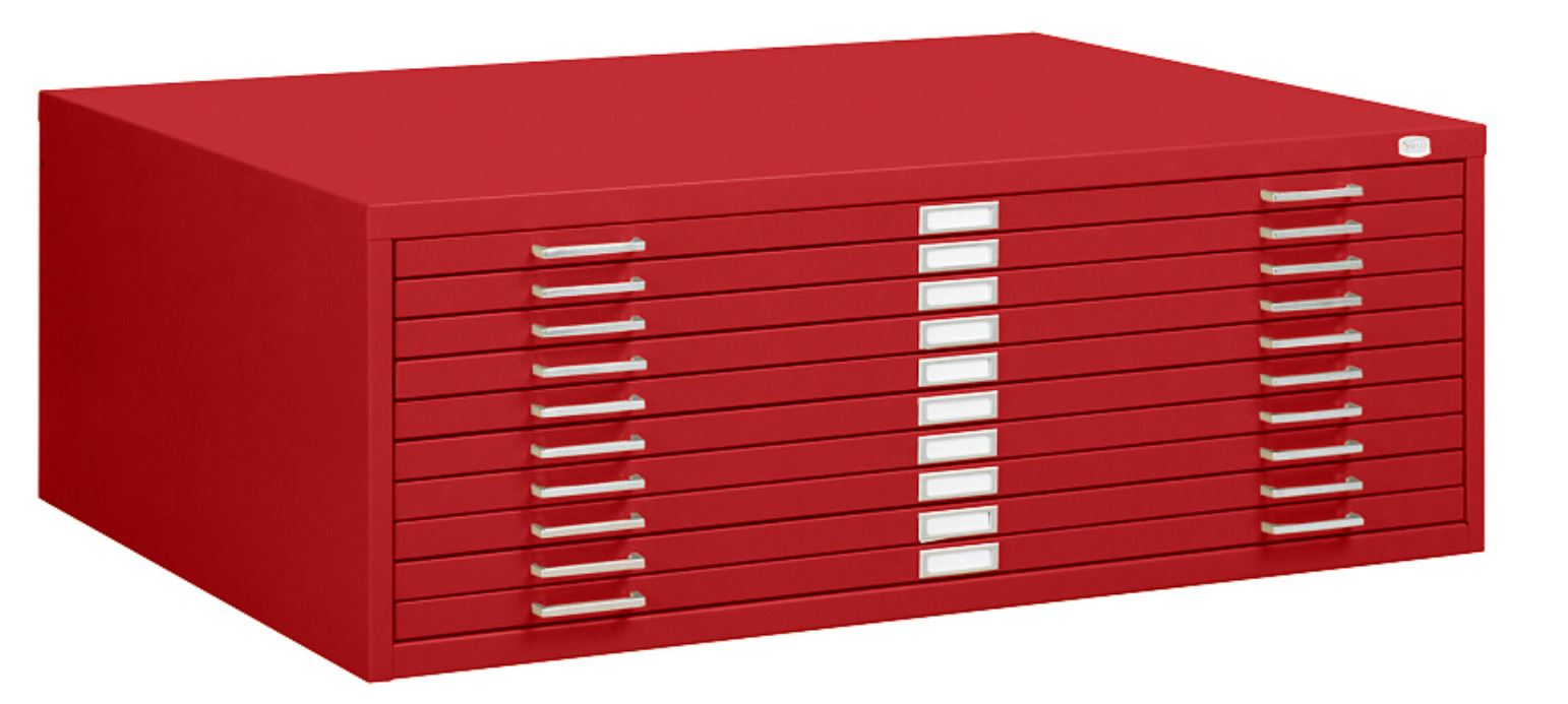 10 drawer flat file