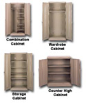 Economy Wardrobe and Storage Cabinets