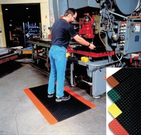 Diamond Deck Anti Fatigue Safety Mats
