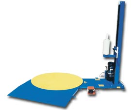 Semi Automatic Stretch Wrap Machine