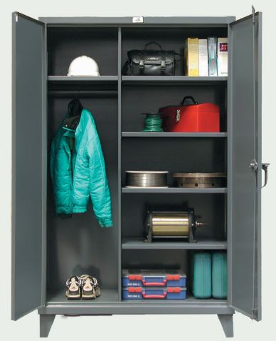 12 ga heavy duty wardrobe cabinet