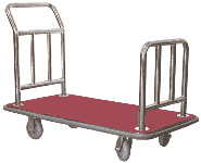 Luggage Platform Truck With Stainless Steel Tubing