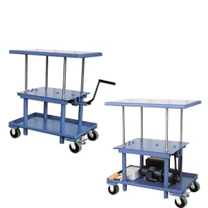 Charmant Mechanical Lift Table