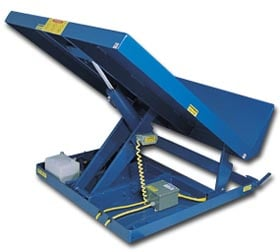 Ergonomic Box Tipper And Tilter And Other Lifting Tables
