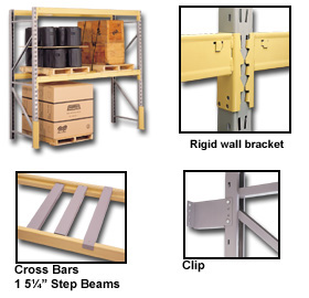 Industrial Duty Pallet Rack Accessories