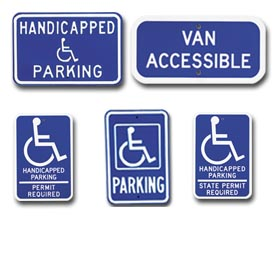 Parking   Symbol Of Access Signs