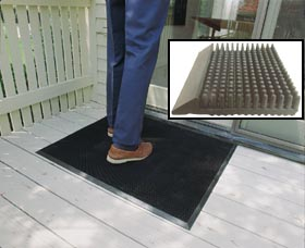 Brush Style Entrance Matting