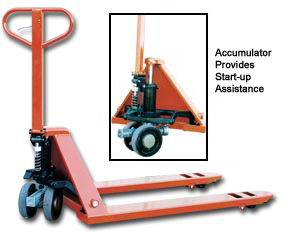 Deluxe Power Assist Pallet Truck
