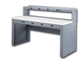 Tennsco Electronic Workbenches With Panel Legs