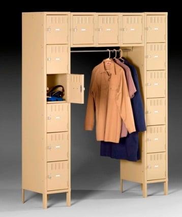 15 person locker - Metal Lockers